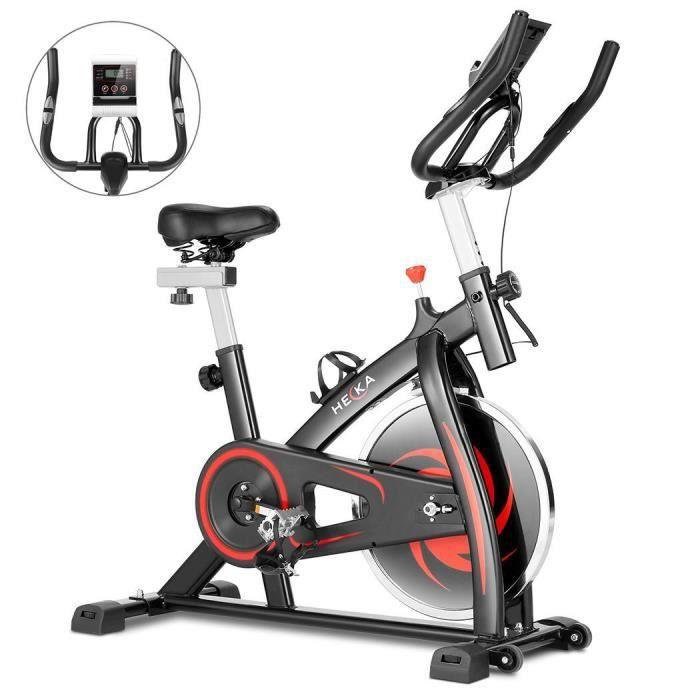 Vélo d'appartement - Bike Vélo Dossier- 8kg- noir