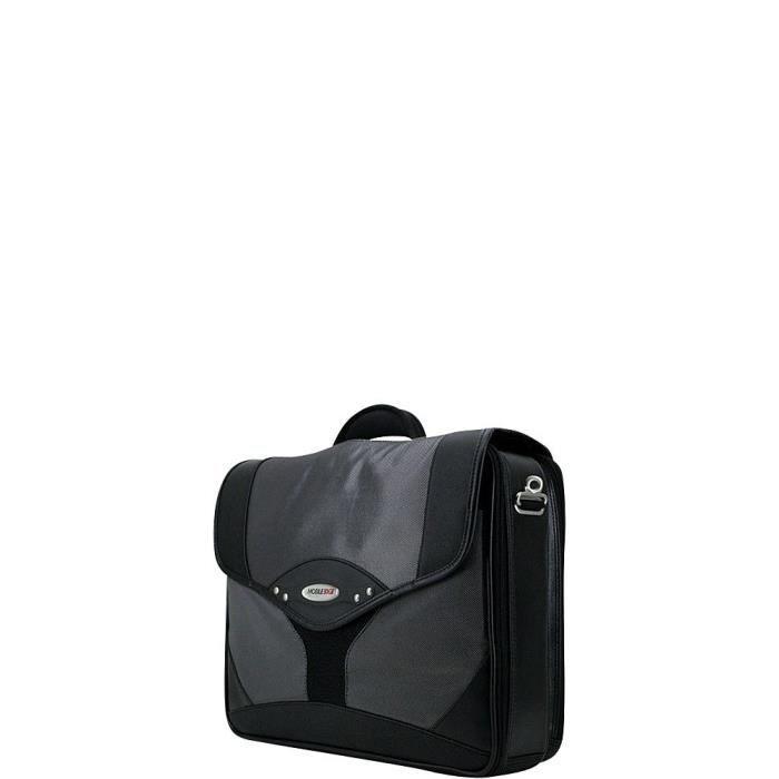Valise Ou Bagage Vendu Seul EU8P3 mallette pour ordinateur portable premium 15,6 pouces pc, 17 pouces mac, compartiment de protectio