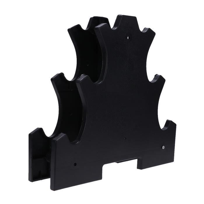 Support d'haltère Support d'affichage d'haltère pratique Accessoires d'équipement de fitness Support de stockage d'haltères pour g