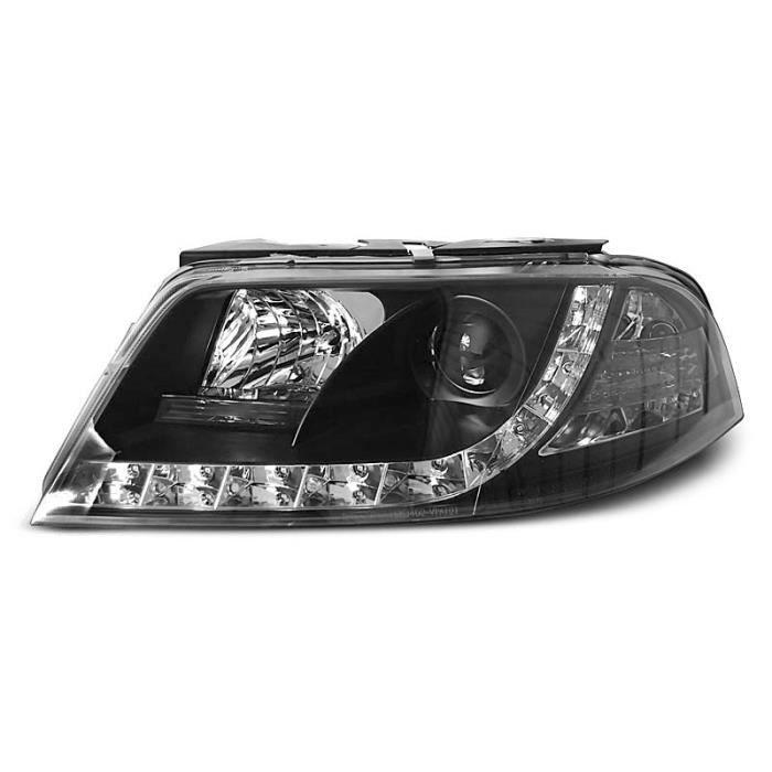 Paire de feux phares VW Passat 3BG 00-05 Daylight led noir (W82)