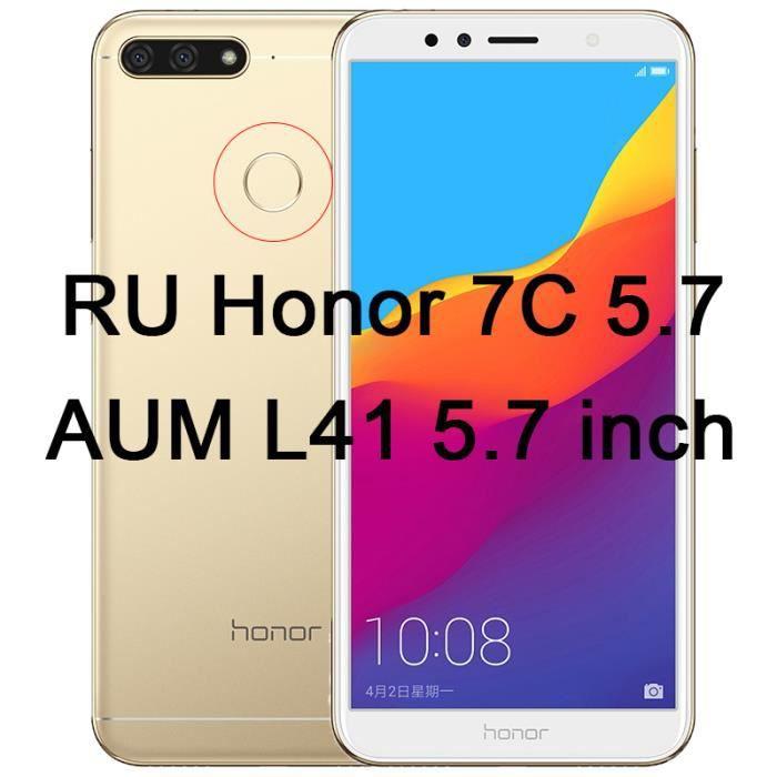 FY Protections d'écran de téléphone - Film protecteur d'écran sur Honor 7A 7C Pro téléph.... - Honor 7C AUM L41 - FYSFLTP0507A15904