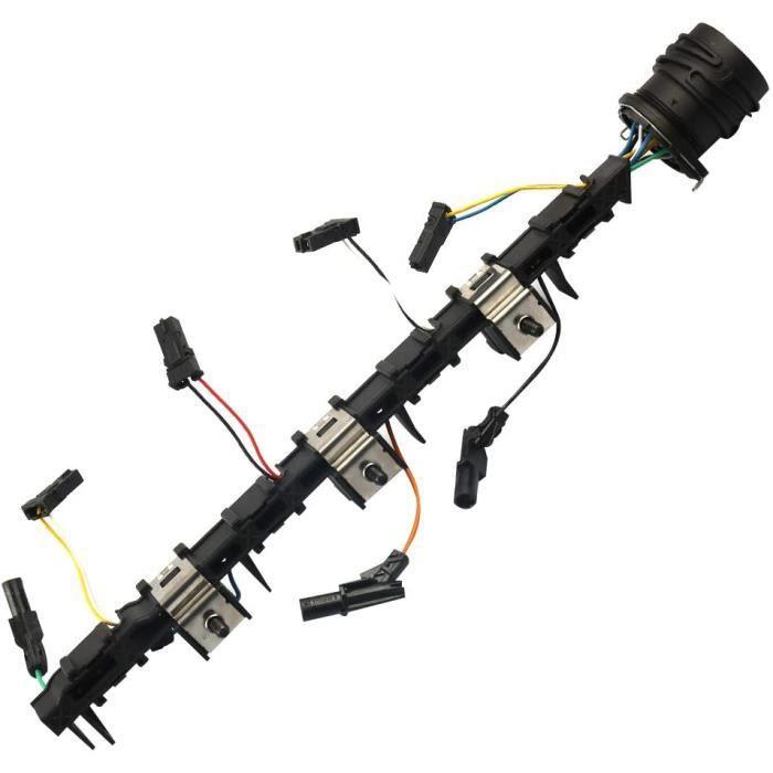 câbles d'injecteur Buse de pompe TDI 4 cylindres 03G971033M Compatible avec VW AUDI Golf Seat Skoda