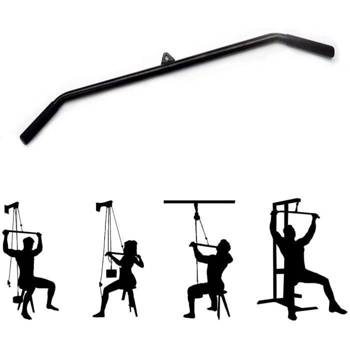 YCMY Barre De Traction pour Biceps Barre oite DIY Barre De Traction pour Exercices De Fitness, Musculation À La Maison, Acces50
