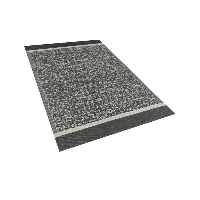 Beliani - Tapis extérieur noir 120 x 180 cm BALLARI