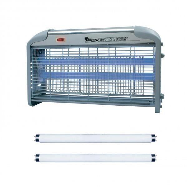 Lampe Tue insecte electrique 30w destructeur moustique + 2 Tubes de recharge