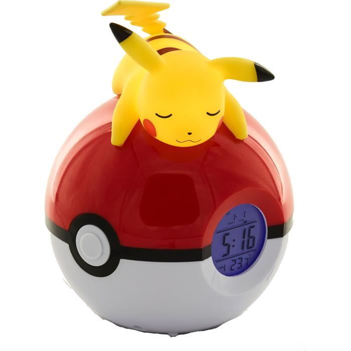 POKEMON Réveil lumineux Pikachu - Jaune