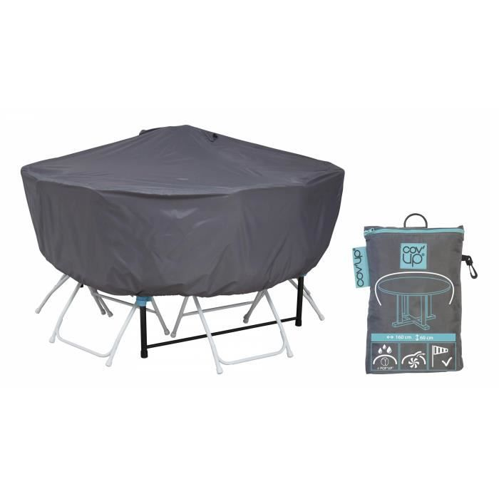 Housse de protection table ronde 160 cm