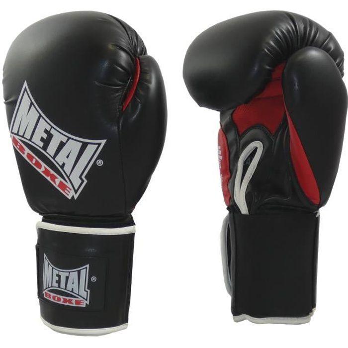 -Gants de boxe Métal boxe OKO-16 oz-Noir-16 oz--16 oz-Noir--------------Noir-16 oz