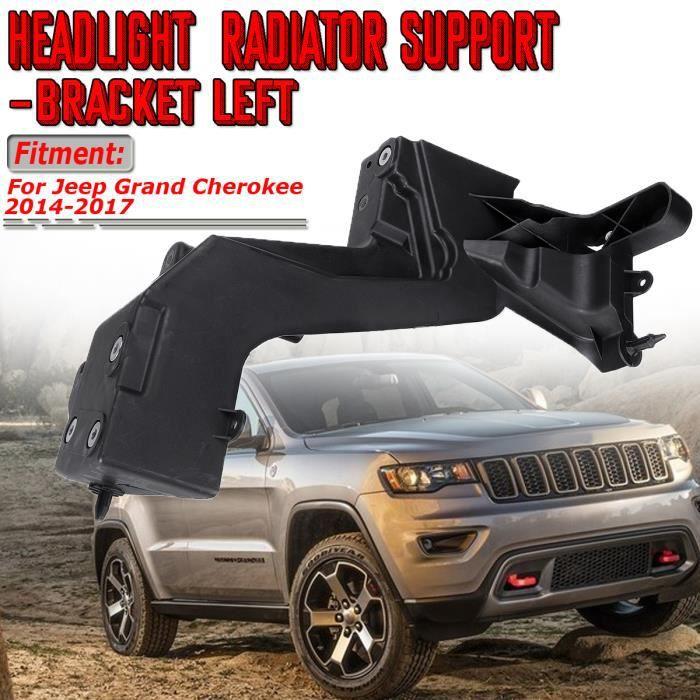 NEUFU Support de Radiateur de Phare Avant Gauche Pour Jeep Grand Cherokee 2014-2017