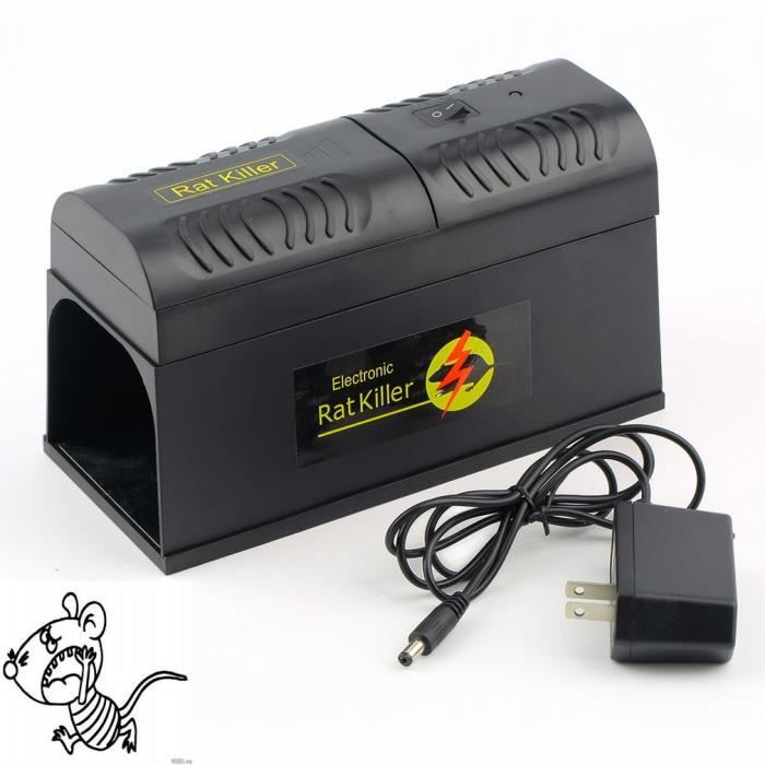 Souris électronique Rat Tueur électrique Piège Anti-Rongeurs Zapper Pest Control