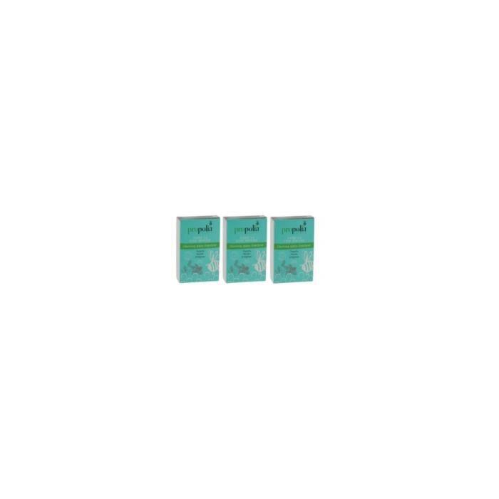 Chewing-Gum Propolis Menthe Reglisse lot de 3 boites de 27 Propolia