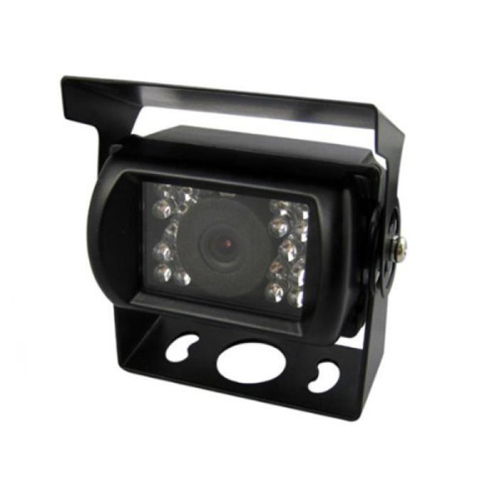Caméra de recul arrière DC 12-24V HD pour caravane de bus de camion de voiture (noir) RADAR DE RECUL - CAMERA DE RECUL
