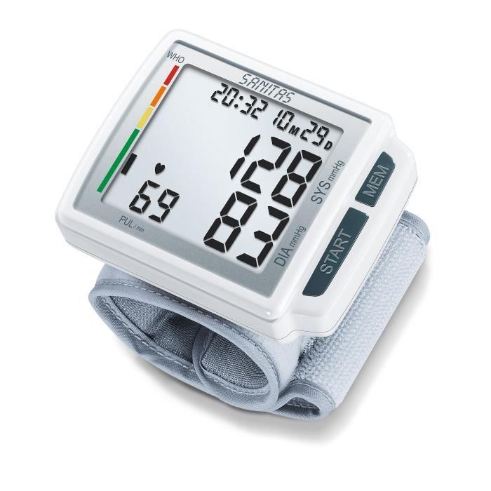 Sanitas Tensiomètre de poignet SBC 41 Blanc