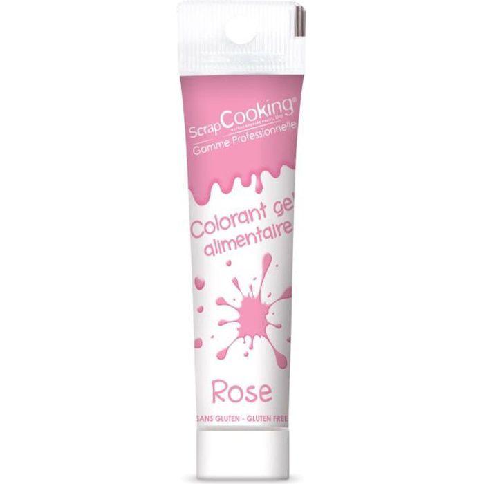 Colorant alimentaire gel - Rose - Scrapcooking