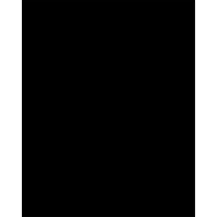 Silhouette carré ardoise - Feutre-craie inclus et kit velcro pour accrochage mural - 30x50cm