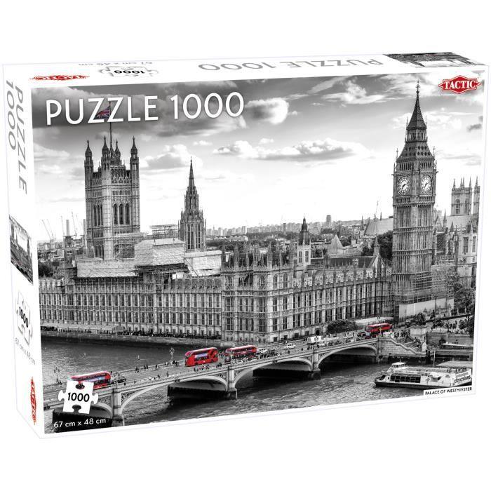 Tactic Westminster 1000 pcs, Jigsaw puzzle, Ville, Enfants, Garçon-Fille, 9 année(s), Intérieur