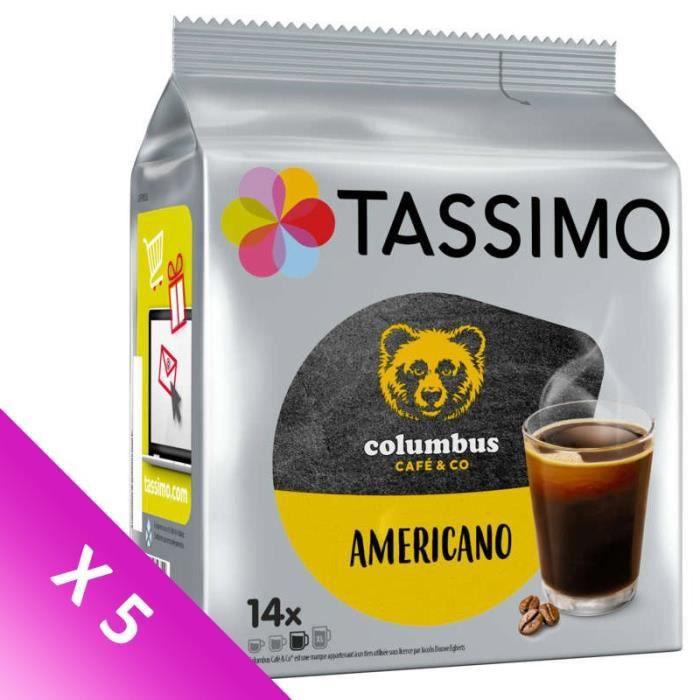 TASSIMO Café Colombus Americano - 14 T-Discs - 116,2 g