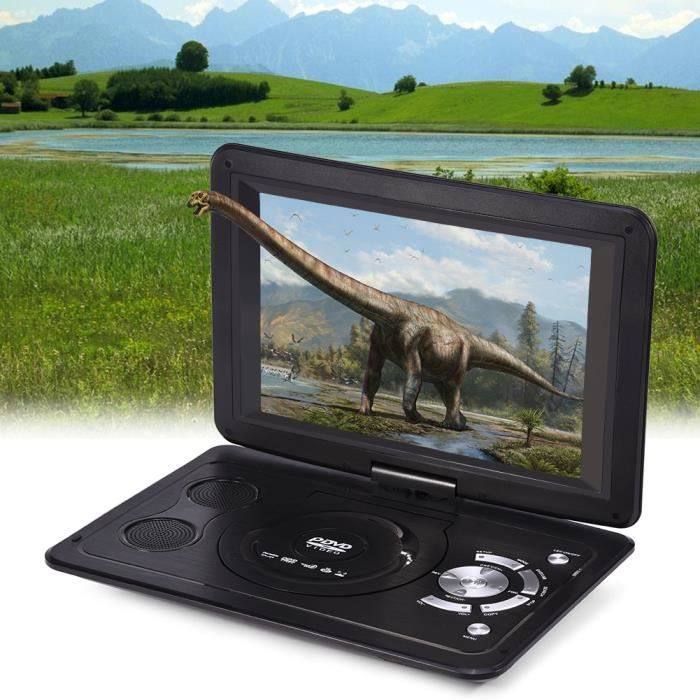 13.9- HD TV Portable Lecteur DVD 16: 9 Écran LCD 110-240 V