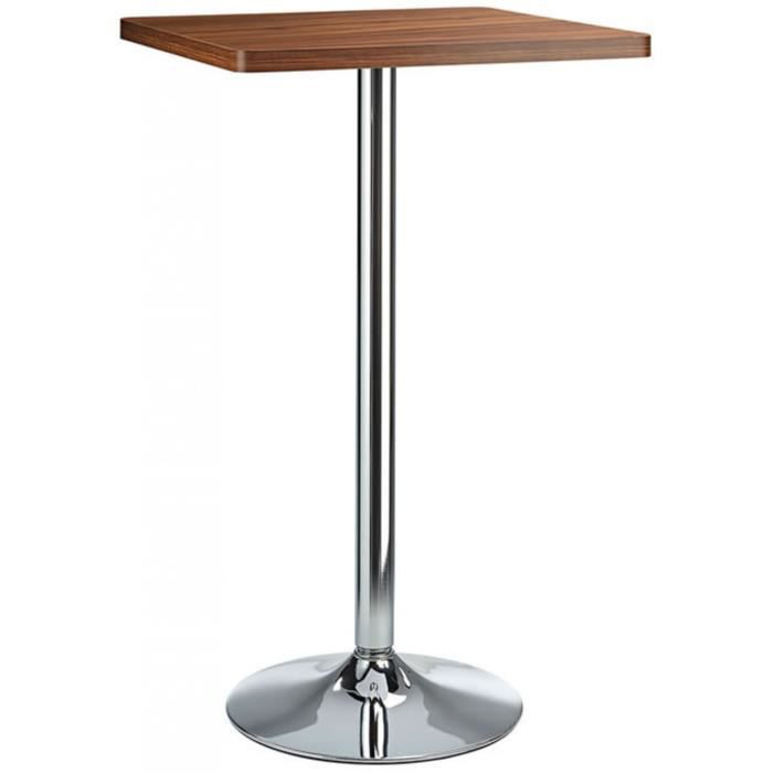 Table bar blanc carre achat vente table bar blanc for Achat table bar