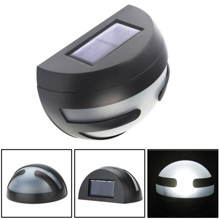 tld 2 led lampe solaire lampe ext rieure lampe led. Black Bedroom Furniture Sets. Home Design Ideas