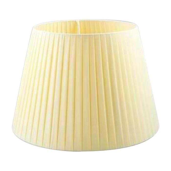 Lot de 3 abat-jours /à clipser en tissu pour lampe de plafond
