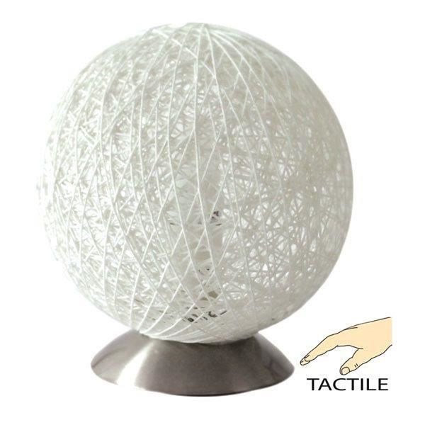 Lampe chevet tactile resille blanche achat vente lampe chevet tactile res - Lampe de chevet tactile ...