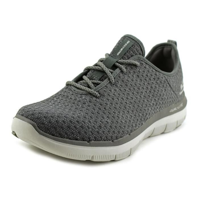 Skechers Flex Advantage 2.0 Cravy Hommes Toile Baskets