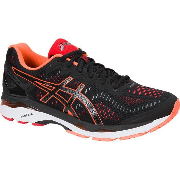 Gel Kayano 23 running homme noir et orange OjAkgRHM