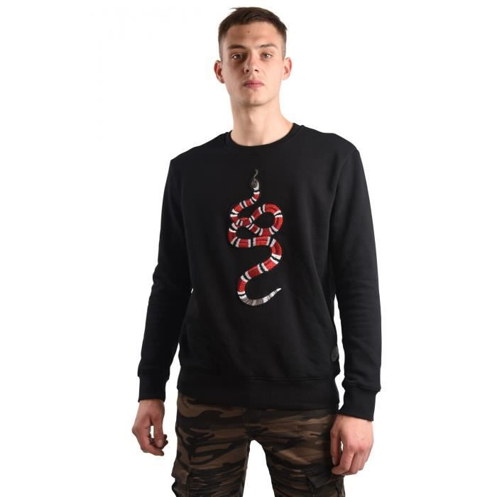 37845540f3260 Sweat SNAKE homme Project X Paris (XL - Noir) Noir Noir - Achat ...