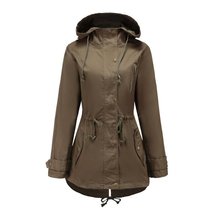 Femme Solide Longues Manteau Plus Pardessus Taille Paontry7269 Thicker Haut Veste Manches Outwear xqwwEXCp