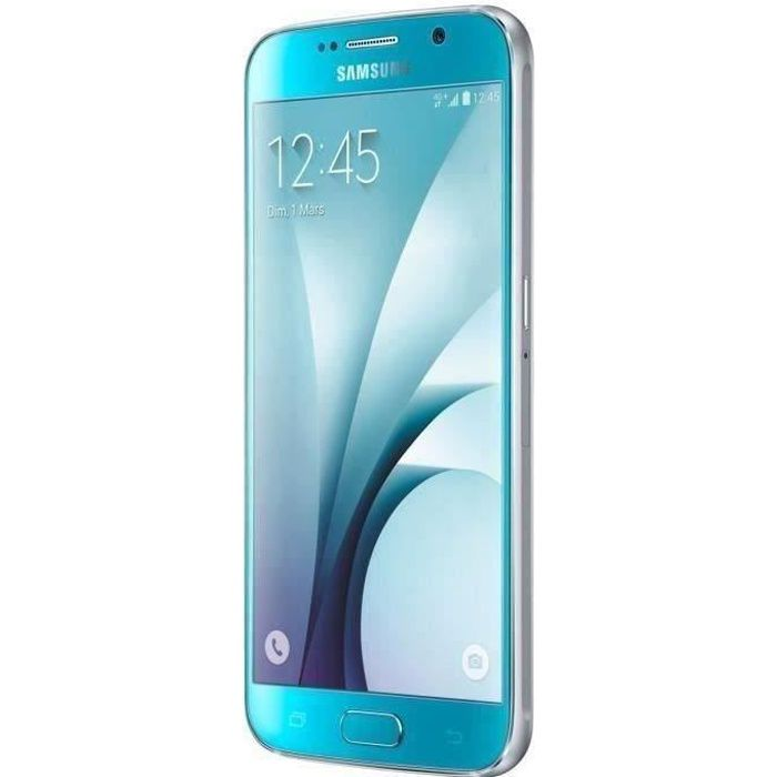 SMARTPHONE Téléphone Mobile Samsung Galaxy S6 32 Go Bleu Topa