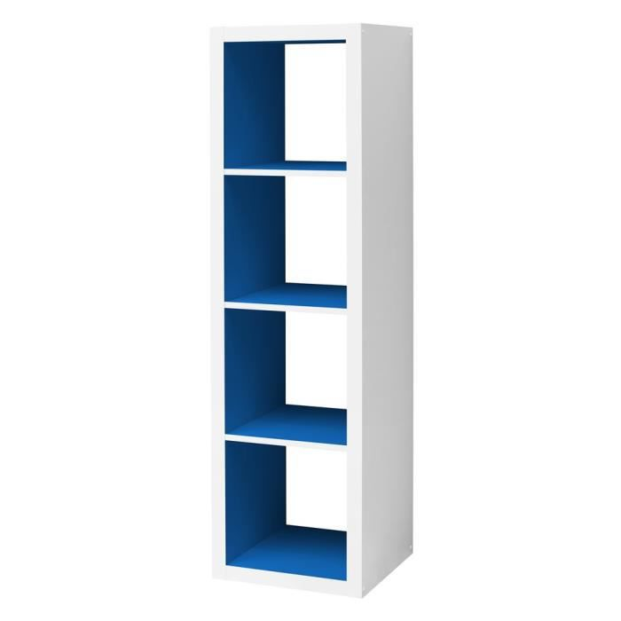 etag re cube swithome szene 4 long blanc bleu roi achat. Black Bedroom Furniture Sets. Home Design Ideas
