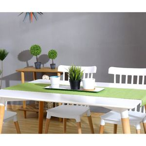 table manger seule table basic 160cm couleur blanc