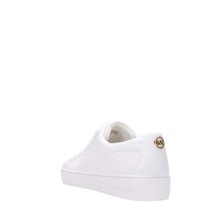 Michael Kors Sneakers Femme Blanc Optique, 38