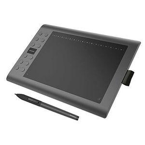 Fonction de Pression et dinclinaison du Stylet Bague Tactile /à Un Doigt HUION Tablette Graphique HS610 avec Stylet sans Pile 8192 connectivit/é t/él/éphonique OS Android 6.0 Pris en Charge