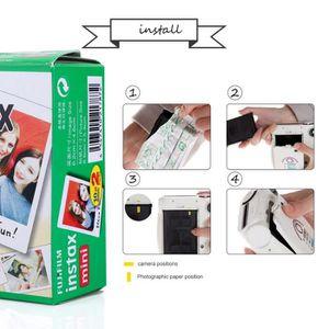 APP. PHOTO ARGENTIQUE Film Fujifilm Instax White Edge 20 feuilles pour F