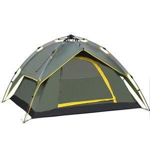 TENTE DE CAMPING 3-4 Personnes Tente Automatique Camping Tente Etan