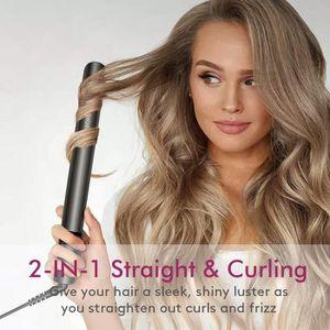 FER A LISSER Fer à lisser 2 en 1 lissage et curling fer à frise