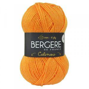 LAINE TRICOT - PELOTE Laine CALINOU Bergère de France 10035 Melon