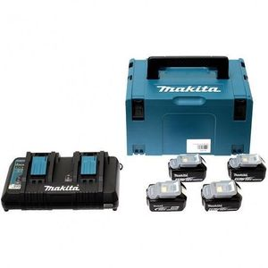 BATTERIE MACHINE OUTIL MAKITA Pack energie 18 V Li-ion - 4 batteries (4Ah