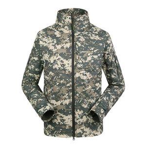 BLOUSON DE SKI Blouson Homme Col dresser Rétro Militaire Armée Ca