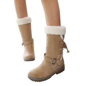 Classiques bottes de neige femme