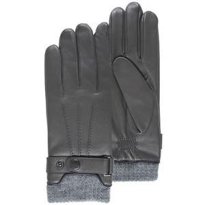 Gants en cuir d/'agneau homme noir chaleur souplesse confort S M L XL XXL Cadeau
