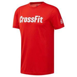 vêtements homme t-shirts reebok forging elite fitness speedwick. reebok crossfit speedwick fef t-shirt graphique. notre nouveau tiss