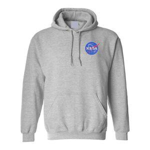 SWEATSHIRT Sweatshirt UANZ3 NASA sweat à capuche brodé Espace