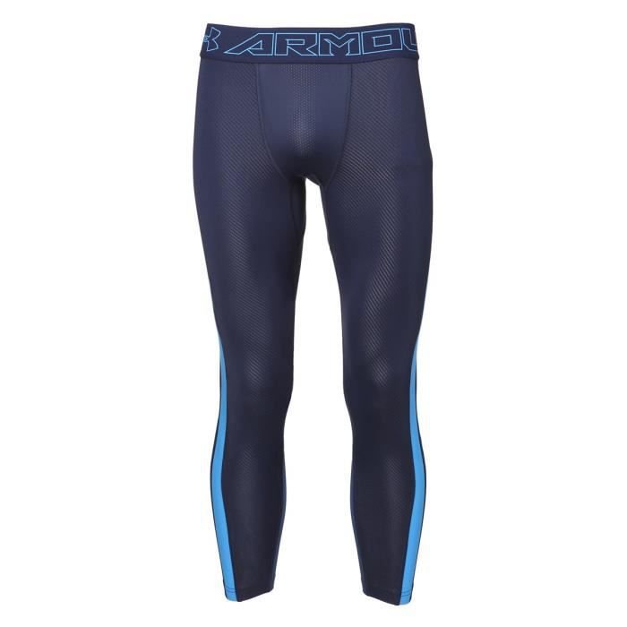UNDER ARMOUR Leggings HeatGear Supervent 2.0 3/4 - Homme - Bleu marine