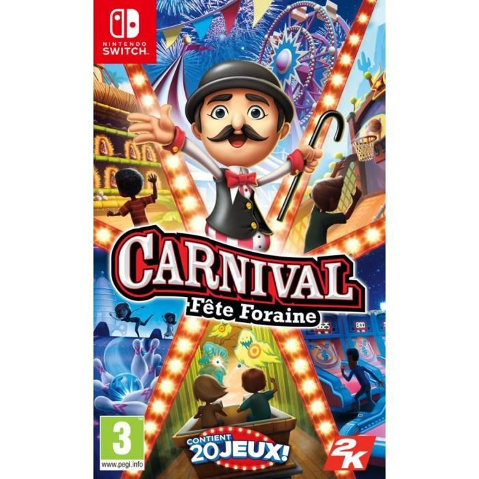 Carnival Fête Foraine Jeu Switch