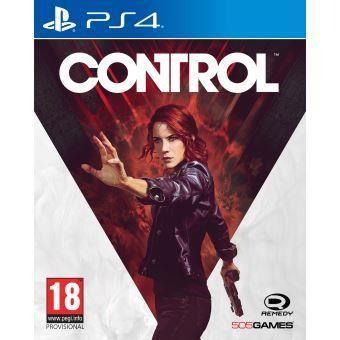 CONTROL Jeu PS4 + 1 Porte Clé