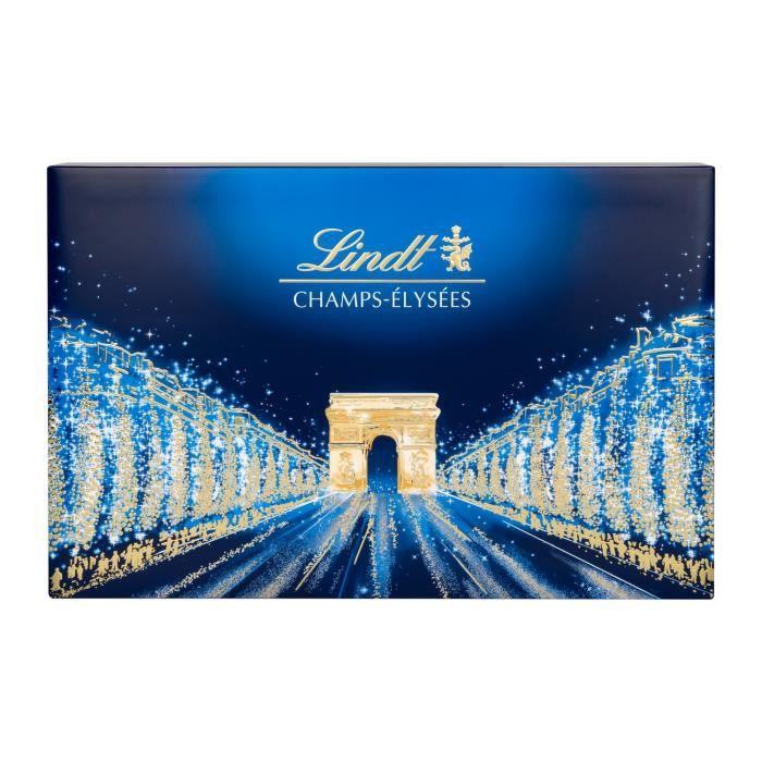 Chocolat Champs-Elysées LINDT, la boite de 44 bouchées - 469g