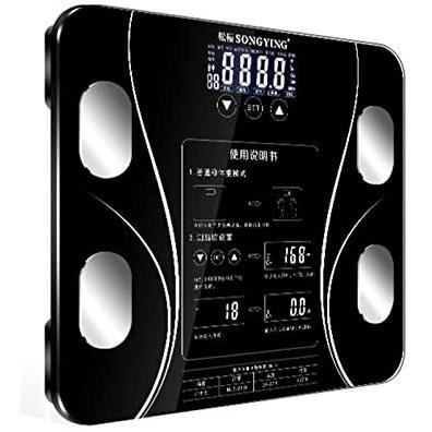 Pèse Personne Smart Body Fat Bmi Scale Échelles De Poids Humain Numériques Floor Lcd Display Body Index